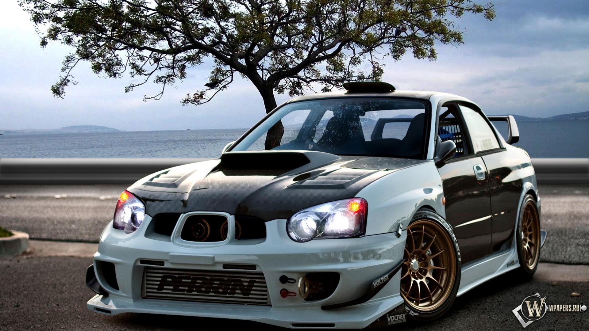 Скачать обои Subaru Impreza WRX STI (Subaru Impreza ...