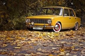 ВАЗ 2101 и осень
