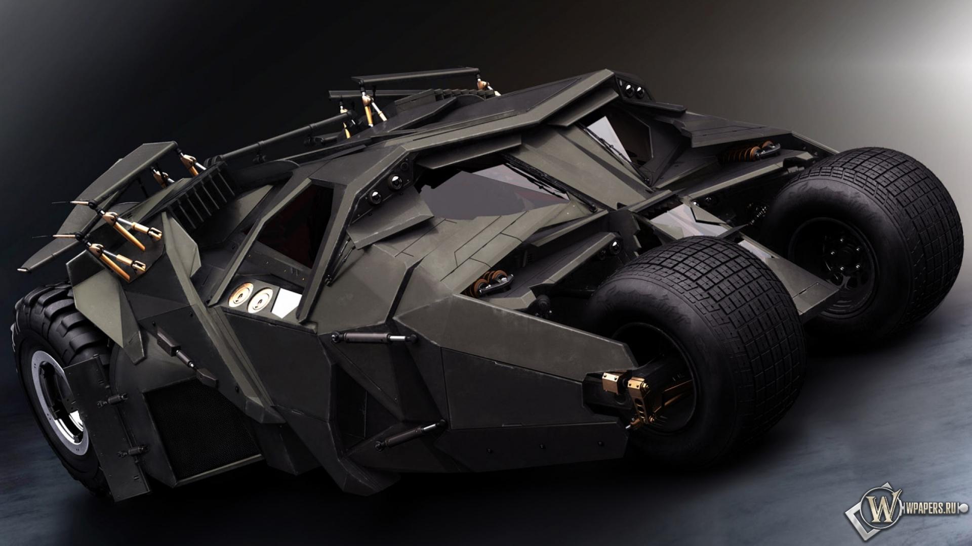 Обои бэтмобиль авто бэтмен 1920x1080
