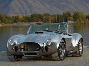 Обои AC Cobra: Авто, Серебристый, Автомобиль, AC Cobra, Другие марки