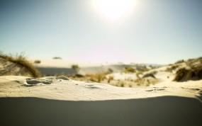 Обои Песчаные холмы: Песок, Природа, Солнце, Лето, Компьютерные