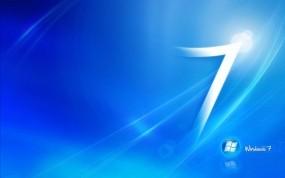 Обои Windows 7: Логотип, Синий, Windows, 7, Компьютерные
