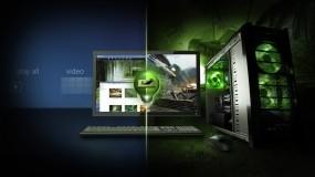 Обои Nvidia: Мышь, Клавиатура, Монитор, Компьютерные
