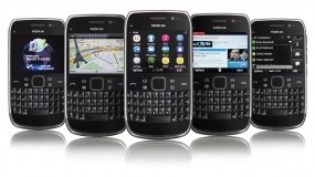 Обои Nokia E6: Мобильник, Mobile, Nokia, E6, Компьютерные