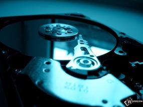 Обои Винчестер: Жесткий диск, Лазер, Диск, Компьютерные-Фэнтези