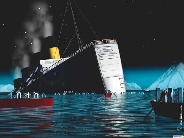 Системный блок Титаник