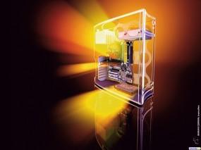 Обои 3D Системный блок: , Компьютерные-Фэнтези