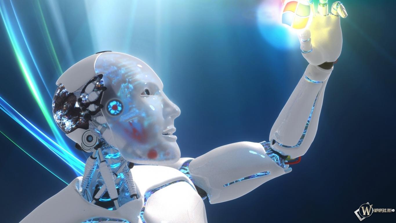 Обои информационные технологии рука