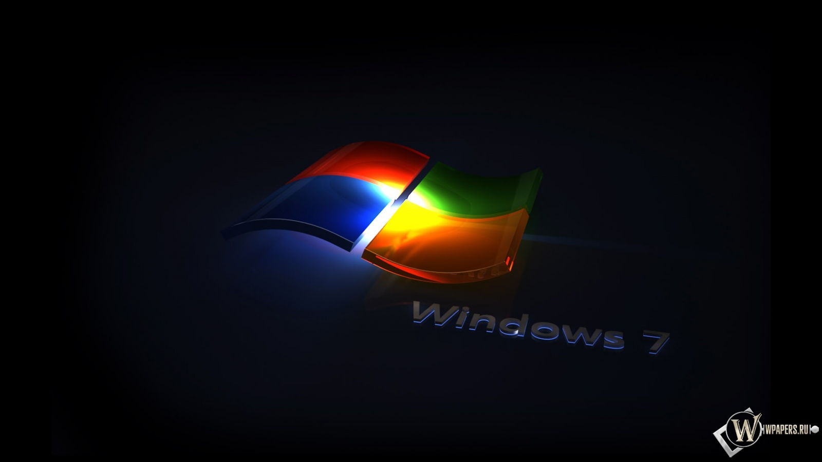 Обои цвета windows цвета windows 7 1600x900