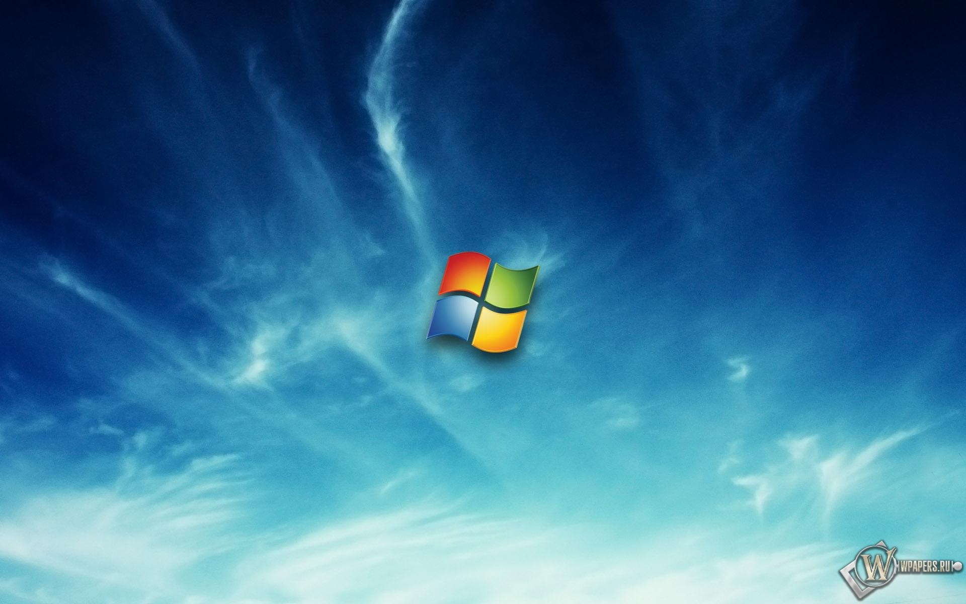 Windows в облаках 1920x1200
