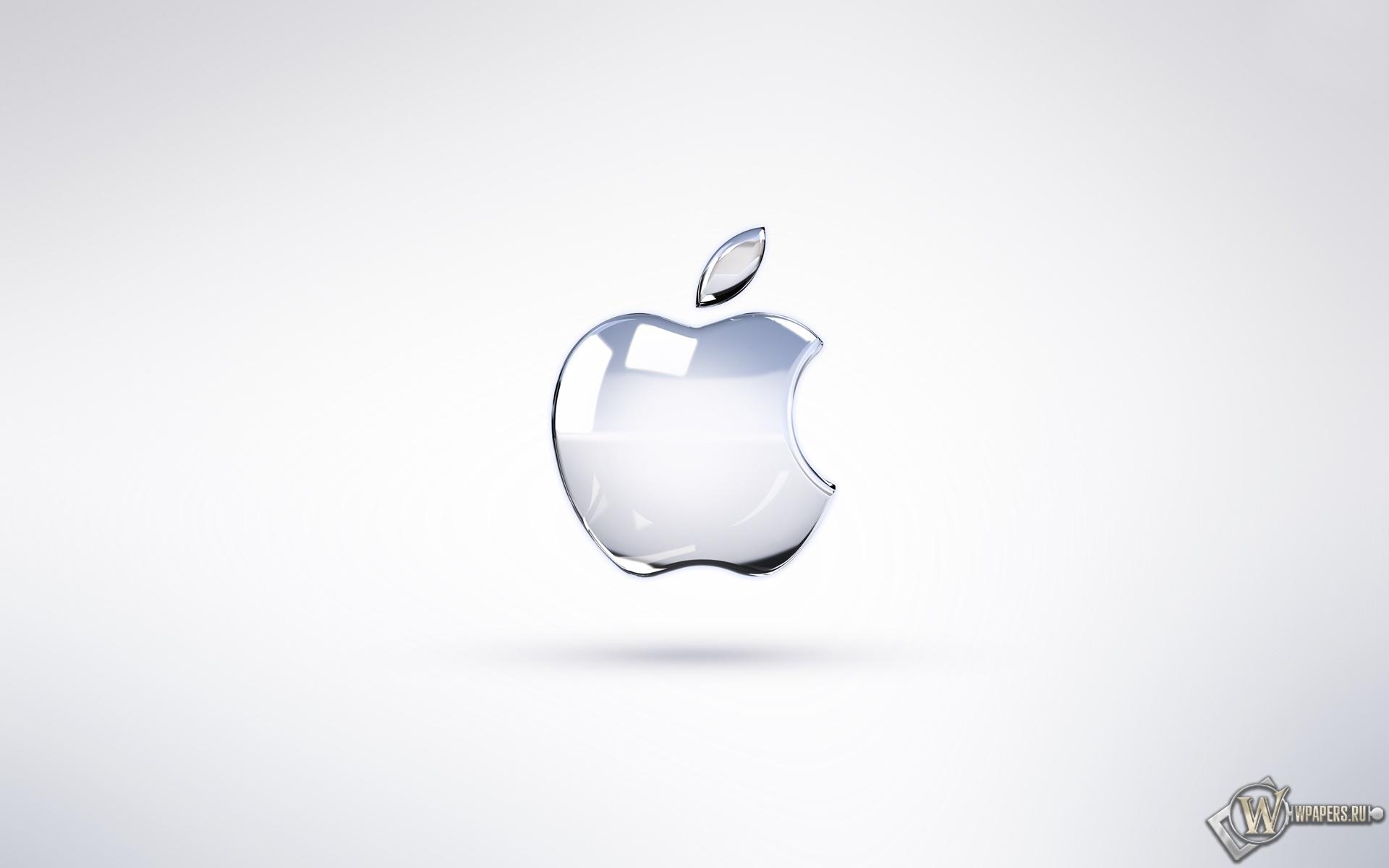 Apple Logo Broken Glass 1920x1200