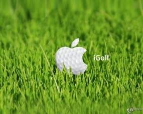 Обои Apple igolf: , Apple