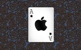 Обои Карта Apple: Яблоко, Карта, Apple, Узор, Apple