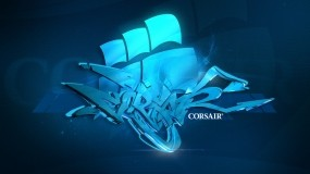 Обои Corsair: Graffiti, Style, Логотипы