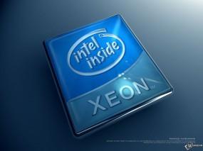 Обои Intel Xeon: , Логотипы