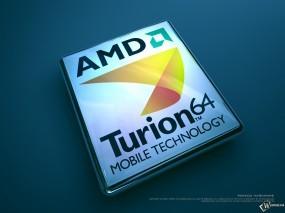 Обои Turion 64: , Логотипы