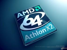 Обои Athlon X2: , Логотипы