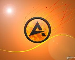 Обои AIMP: AIMP, Проигрыватель музыки, Софт, Логотипы