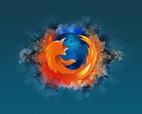 Обои Mozilla Firefox: Лисица, Синий, Mozilla, Логотипы
