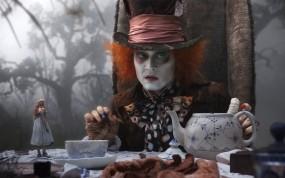 Обои Алиса в стране чудес: Джонни Депп, Алиса в Стране чудес, Фильмы