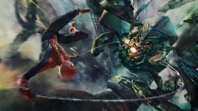 Обои Чуловек-паук: Робот, Бой, Spider-Man, Фильмы
