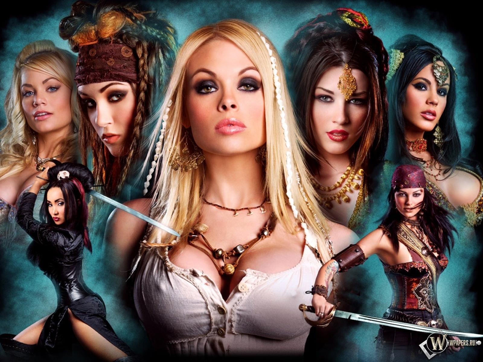 Обои пираты 2 девушки пираты фильм