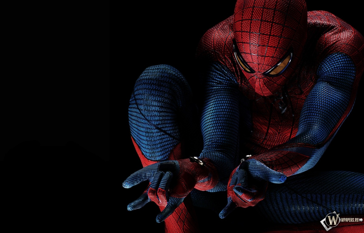 Новый человек паук spider man человек