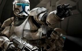 Обои Звёздные войны - солдат республики: Оружие, Star Wars, Солдат, Фильмы