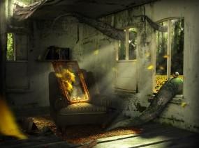 Обои Заброшенный дом: Заброшенный дом, Фильмы