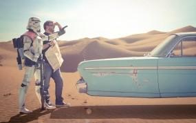 Обои Клон Star Wars: Пустыня, Звездные войны, Star Wars, клон, Фильмы