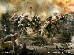 Обои The Pacific: Война, Люди, Фильм, The pacific, Фильмы