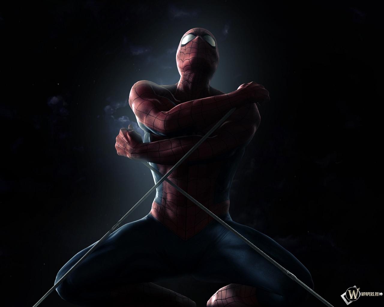 игру человек паук паутина теней на компьютер на русском
