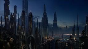 Обои Coruscant Star Wars: Star Wars, Фильм, Фильмы