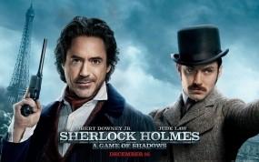 Обои Шерлок Холмс Игра теней: Фильм, Роберт Дауни, Джуд Лоу, Фильмы