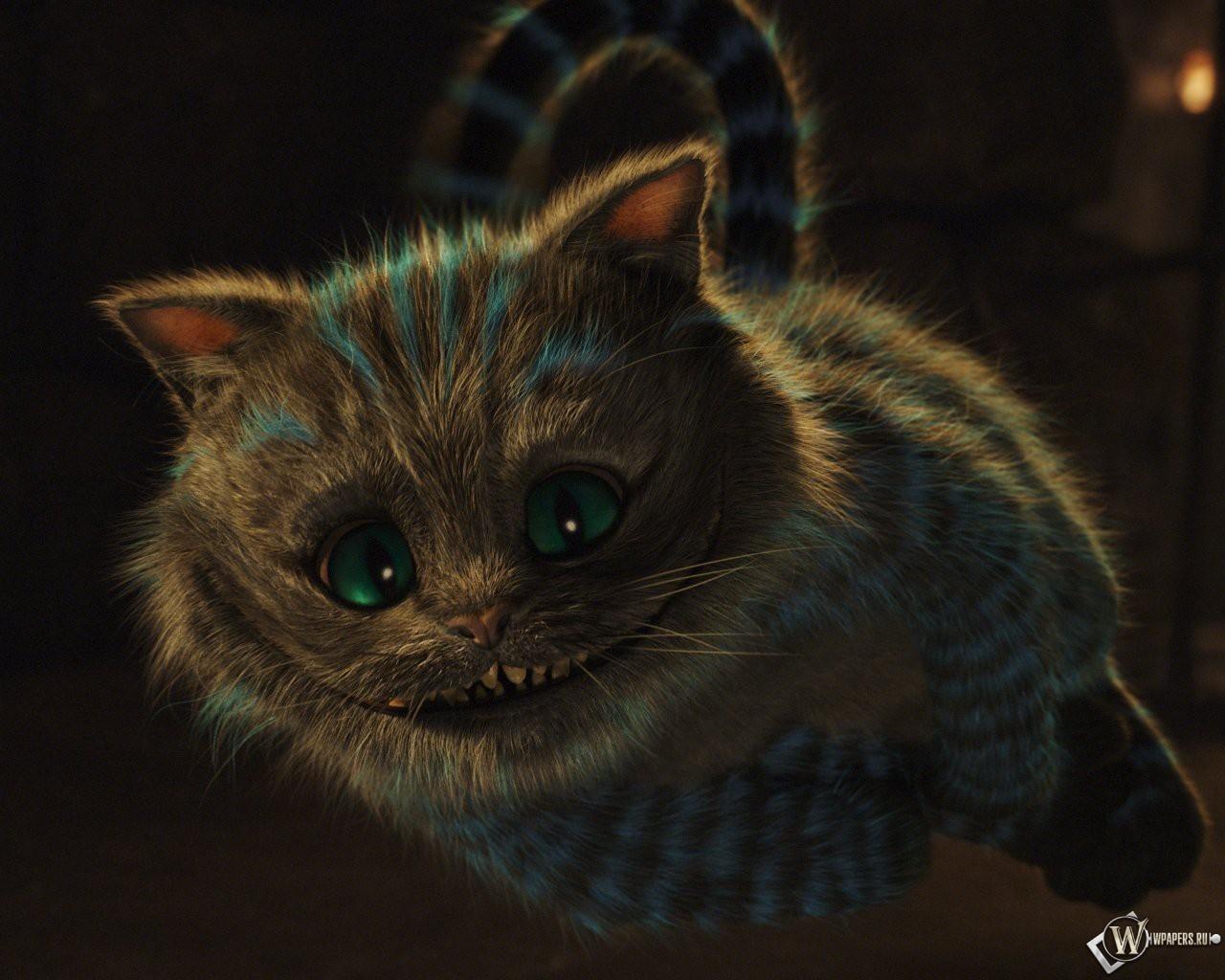 Алиса в стране чудес кот фильм алиса