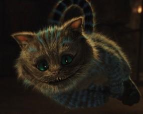 Обои Кот из фильма Алиса в Стране чудес: Кот, Фильм, Алиса в Стране чудес, Фильмы