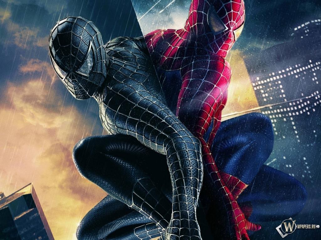 Человек паук 3 1024x768