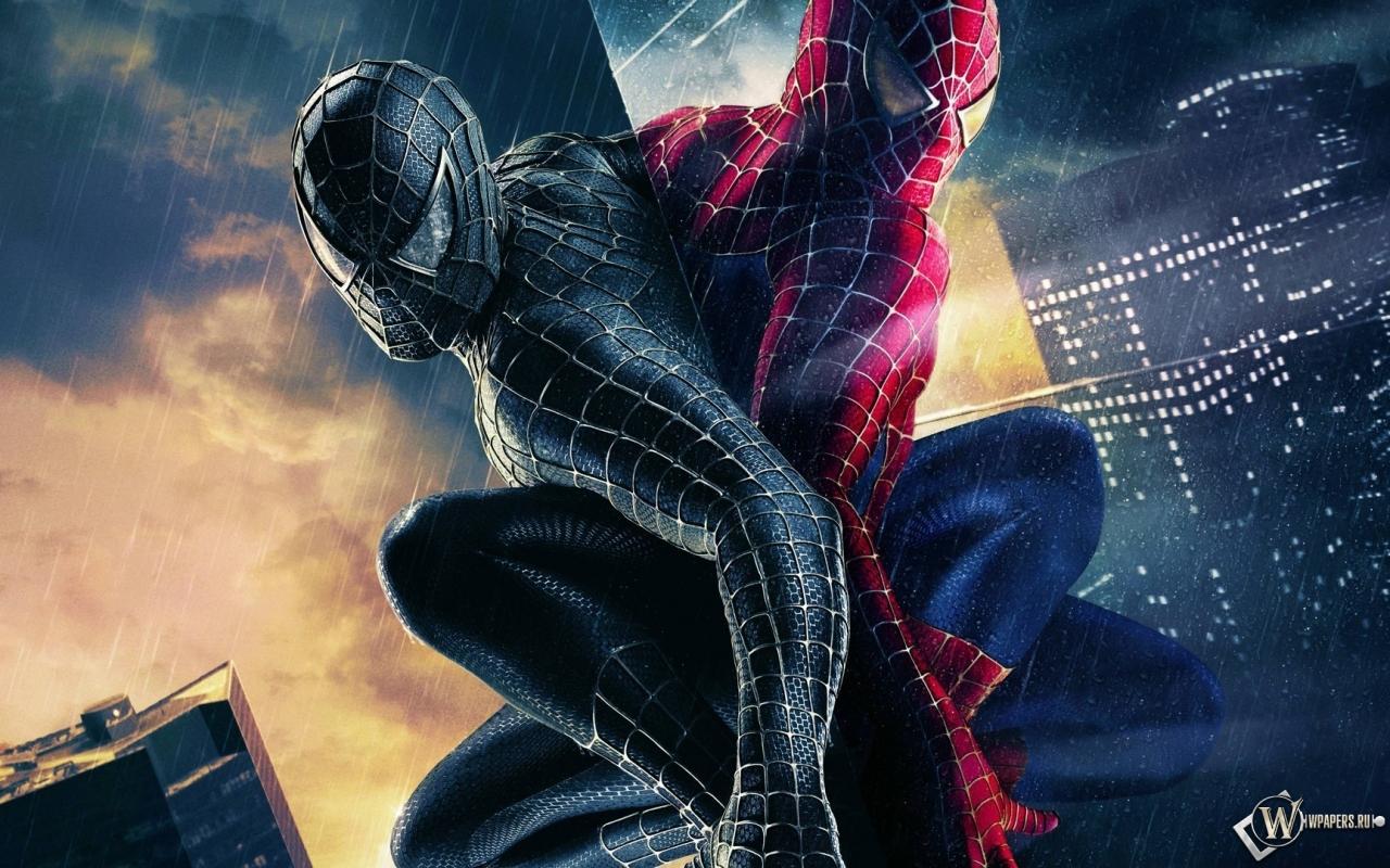 Человек паук 3 1280x800