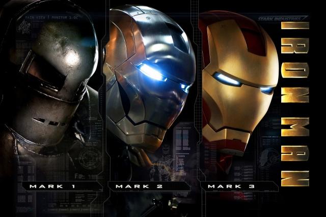 Три брони Железного-человека