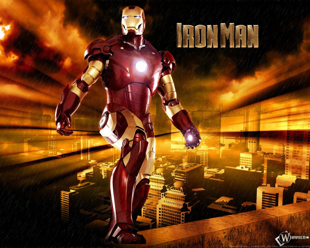 Железный человек 1280x1024