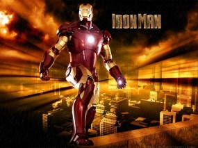 Обои Железный-человек: Город, Железный человек, Фильмы