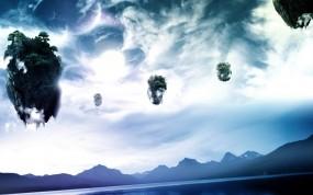 Обои Пандора (Avatar): Планеты, Камни, Небо, Avatar