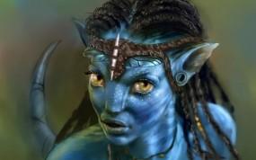 Обои Нейтири: Кино, Нейтири, Аватар, Avatar