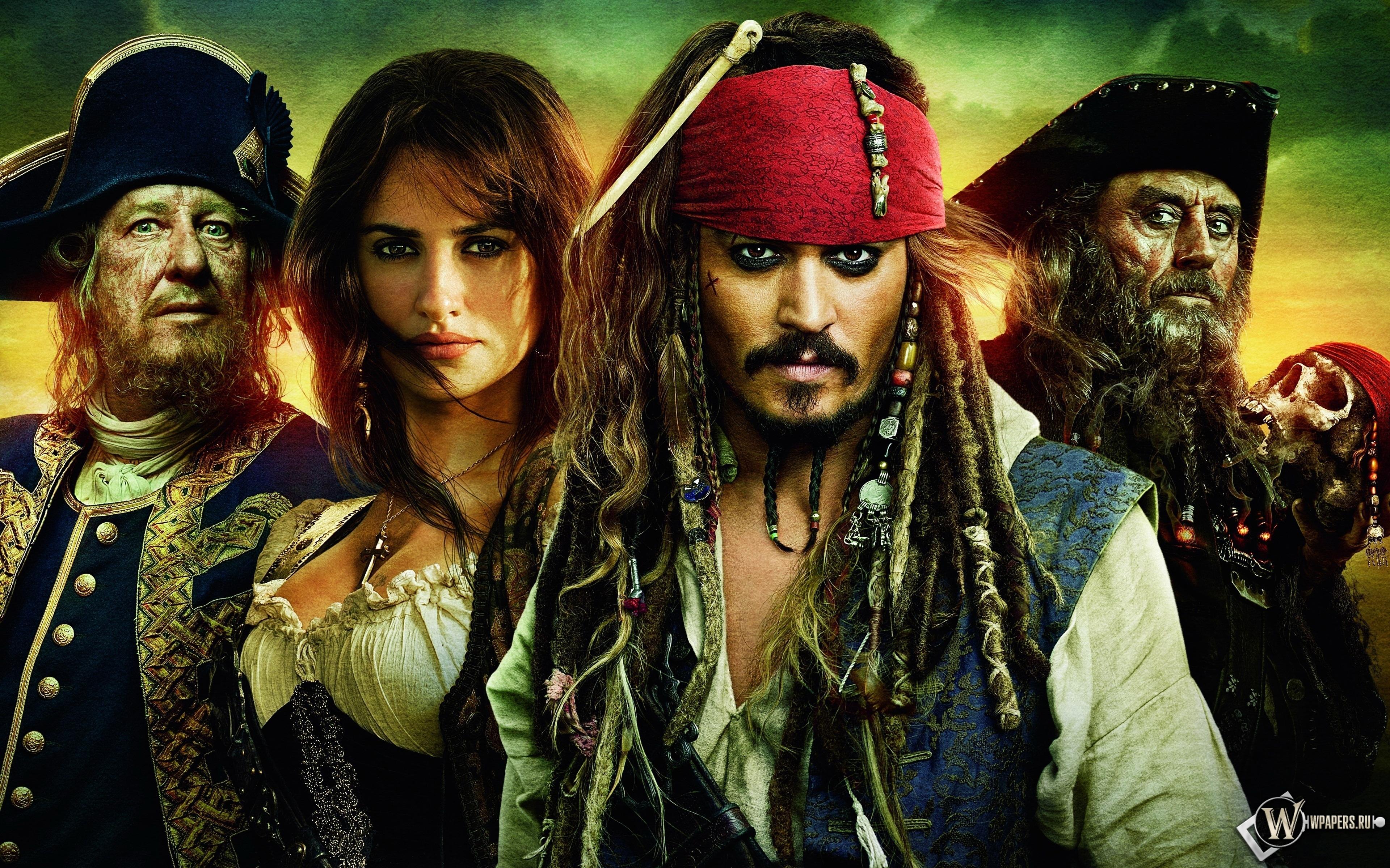 Пираты Карибского моря 3840x2400