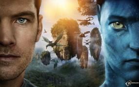 Обои Avatar: Фантастика, Драконы, Мир Пандоры, Летучий остров, Avatar