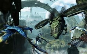 Обои Аватар: Вертолет, Пандора, Pandora, Драконы, Avatar
