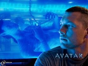 Обои Аватар: НЛО, Сэм Уортингтон, Аватар, Актёр, Avatar