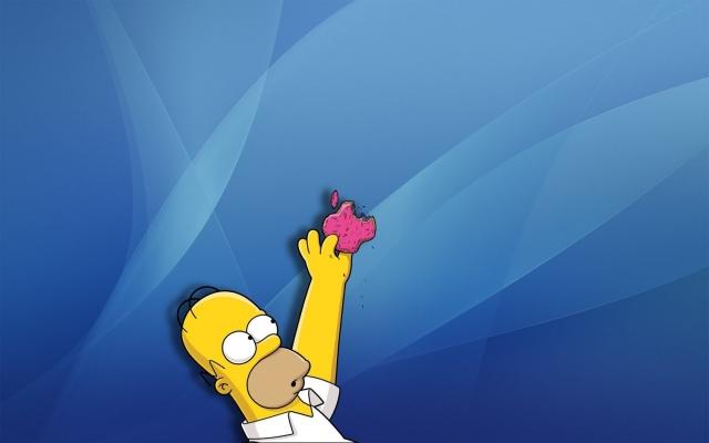 Apple и Гомер