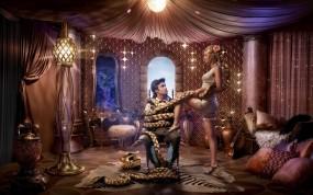 Обои Рапунцель: Девушка, Принц, Коса, рапунцель, Мультфильмы
