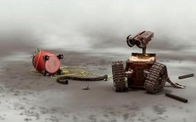Обои WaALL-E: WALL-E, Мультфильм, Мультфильмы